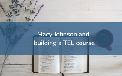Education Futures Podcast 23: Macy Johnson and building the Introduction to Christianity course
